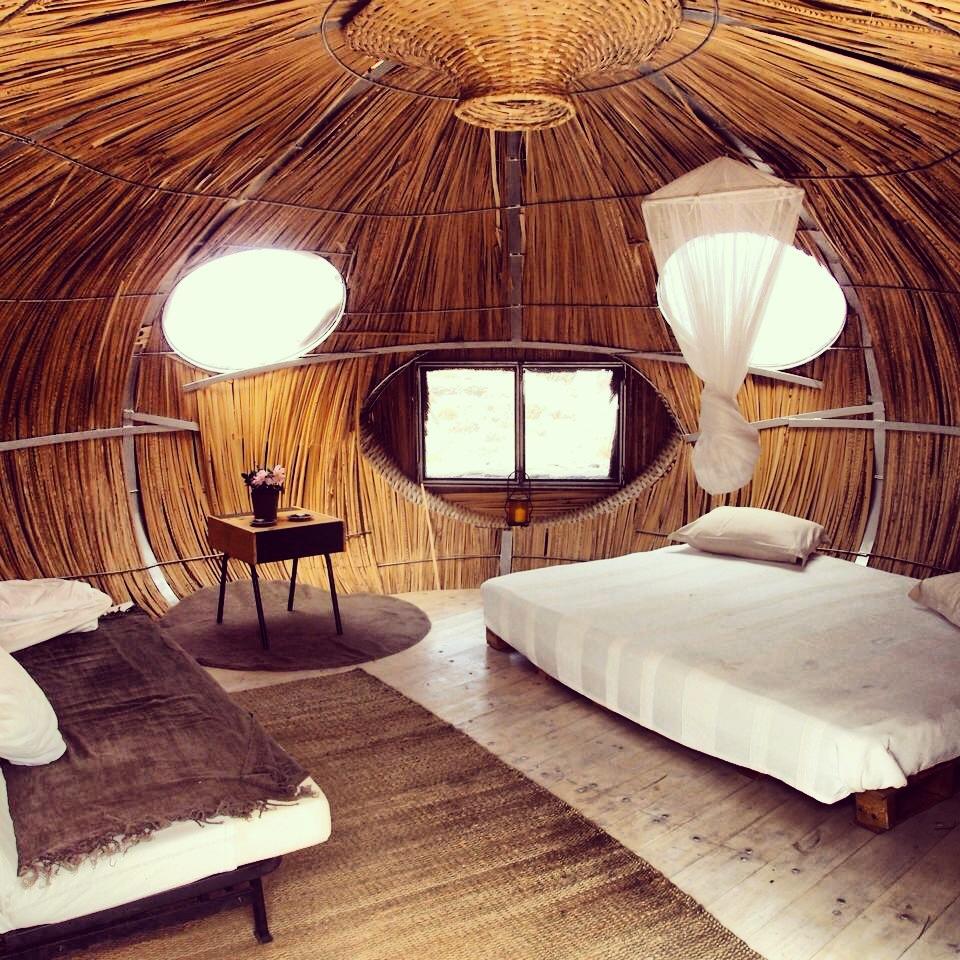 Alojamiento eco rural en lanzarote - Casas de madera por dentro ...
